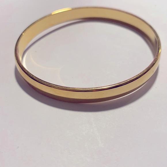 Vintage gold Monet bangle bracelet